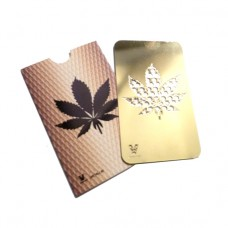 Gold Leaf Grinder Card