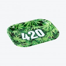420 Green rolling tray 18x14