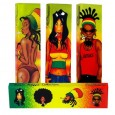 Snail Rasta Reggae Rolling Papers With Tips