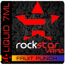 ROCK STAR Vape - Fruit Punch